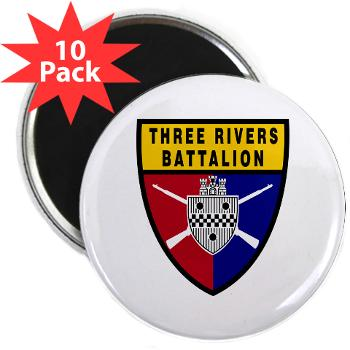 "UP - M01 - 01 - SSI - ROTC - University of Pittsburgh - 2.25"" Magnet (10 pack)"