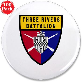 "UP - M01 - 01 - SSI - ROTC - University of Pittsburgh - 3.5"" Button (100 pack)"