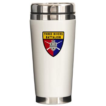 UP - M01 - 03 - SSI - ROTC - University of Pittsburgh - Ceramic Travel Mug