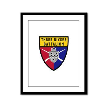 UP - M01 - 02 - SSI - ROTC - University of Pittsburgh - Framed Panel Print
