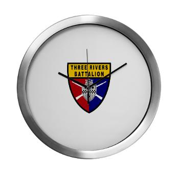 UP - M01 - 03 - SSI - ROTC - University of Pittsburgh - Modern Wall Clock