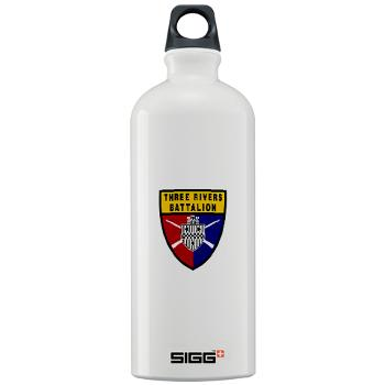 UP - M01 - 03 - SSI - ROTC - University of Pittsburgh - Sigg Water Bottle 1.0L