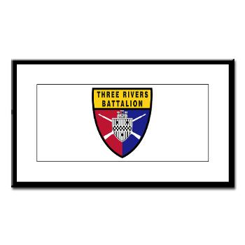 UP - M01 - 02 - SSI - ROTC - University of Pittsburgh - Small Framed Print