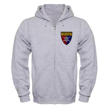 UP - A01 - 03 - SSI - ROTC - University of Pittsburgh - Zip Hoodie