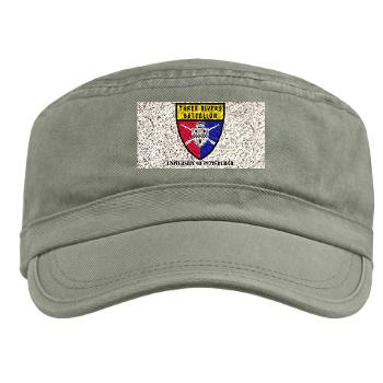 UP - A01 - 01 - SSI - ROTC - University of Pittsburgh with Text - Military Cap