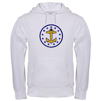 URI - A01 - 03 - SSI - ROTC - University of Rhode Island - Hooded Sweatshirt