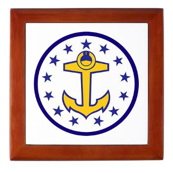 URI - M01 - 03 - SSI - ROTC - University of Rhode Island - Keepsake Box