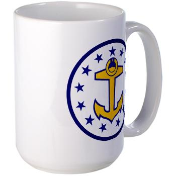 URI - M01 - 03 - SSI - ROTC - University of Rhode Island - Large Mug