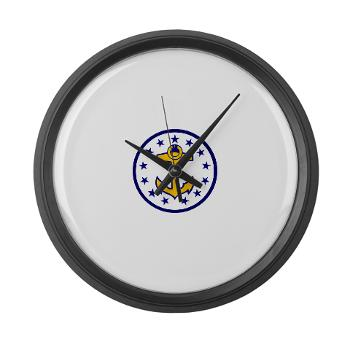 URI - M01 - 03 - SSI - ROTC - University of Rhode Island - Large Wall Clock