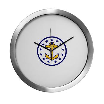 URI - M01 - 03 - SSI - ROTC - University of Rhode Island - Modern Wall Clock
