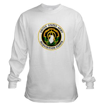 USAASC - A01 - 03 - U.S. Army Acquisition Support Center (USAASC) - Long Sleeve T-Shirt