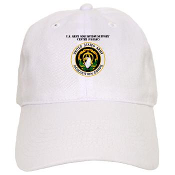 USAASC - A01 - 01 - U.S. Army Acquisition Support Center (USAASC) with Text - Cap