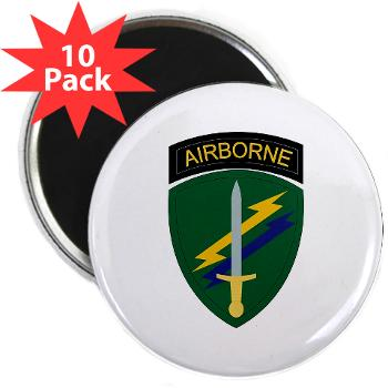 "USACAPOC - M01 - 01 - SSI - US Army Civil Affairs and Psychological Ops Cmd 2.25"" Magnet (10 pack)"