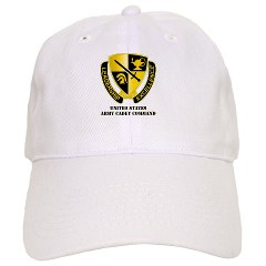 USACC - A01 - 01 - DUI - US Army Cadet Command with Text Cap