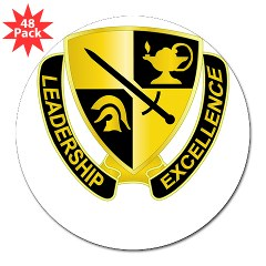 "USACC - M01 - 01 - DUI - US Army Cadet Command 3"" Lapel Sticker (48 pk)"