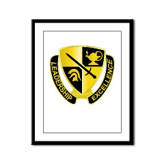USACC - M01 - 02 - DUI - US Army Cadet Command Framed Panel Print