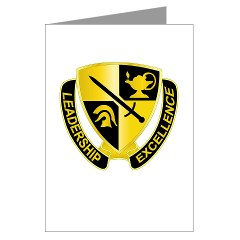 USACC - M01 - 02 - DUI - US Army Cadet Command Greeting Cards (Pk of 10)