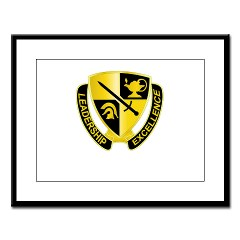 USACC - M01 - 02 - DUI - US Army Cadet Command Large Framed Print