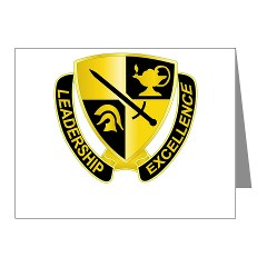 USACC - M01 - 02 - DUI - US Army Cadet Command Note Cards (Pk of 20)