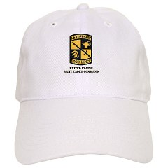 USACC - A01 - 01 - SSI - US Army Cadet Command with Text Cap