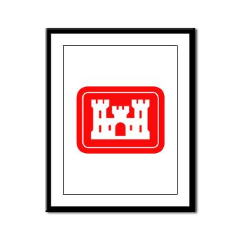 USACE - M01 - 02 - U.S. Army Corps of Engineers (USACE) - Framed Panel Print