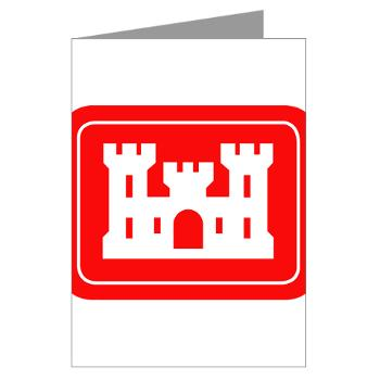 USACE - M01 - 02 - U.S. Army Corps of Engineers (USACE) - Greeting Cards (Pk of 20)