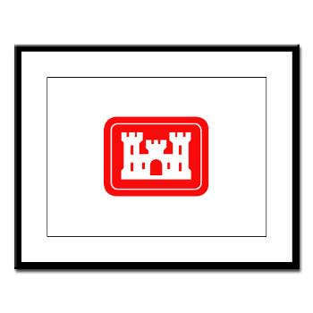 USACE - M01 - 02 - U.S. Army Corps of Engineers (USACE) - Large Framed Print