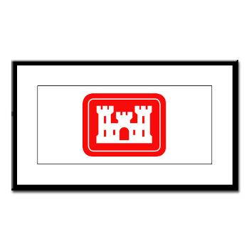 USACE - M01 - 02 - U.S. Army Corps of Engineers (USACE) - Small Framed Print