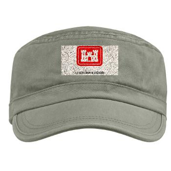 USACE - A01 - 01 - U.S. Army Corps of Engineers (USACE) with Text - Military Cap