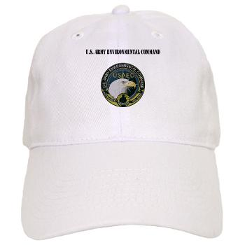 USAEC - A01 - 01 - U.S. Army Environmental Command with Text - Cap