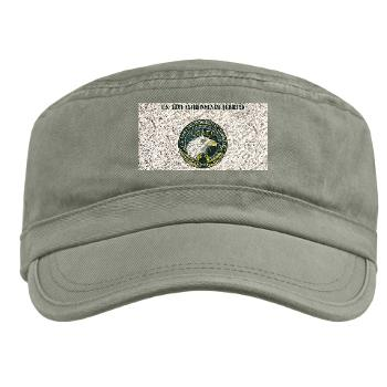 USAEC - A01 - 01 - U.S. Army Environmental Command with Text - Military Cap