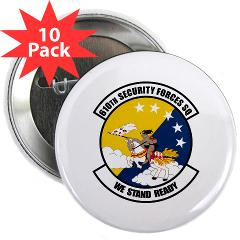 "USAF610SS - M01 - 01 - DUI - 610th Security Force Squadron - 2.25"" Button (10 pack)"