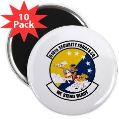 "USAF610SS - M01 - 01 - DUI - 610th Security Force Squadron - 2.25"" Magnet (10 pack)"