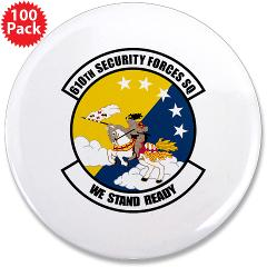 "USAF610SS - M01 - 01 - DUI - 610th Security Force Squadron - 3.5"" Button (100 pack)"