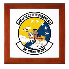 USAF610SS - M01 - 03 - DUI - 610th Security Force Squadron - Keepsake Box