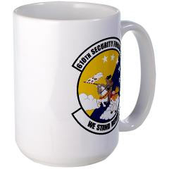 USAF610SS - M01 - 03 - DUI - 610th Security Force Squadron - Large Mug
