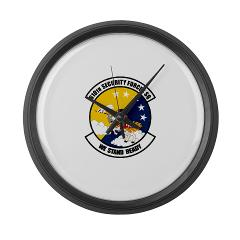 USAF610SS - M01 - 03 - DUI - 610th Security Force Squadron - Large Wall Clock