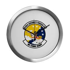 USAF610SS - M01 - 03 - DUI - 610th Security Force Squadron - Modern Wall Clock