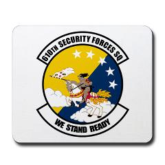 USAF610SS - M01 - 03 - DUI - 610th Security Force Squadron - Mousepad