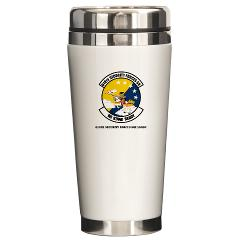 USAF610SS - M01 - 03 - DUI - 610th Security Force Squadron with Texte - Ceramic Travel Mug