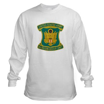 USAMU - A01 - 03 - DUI - U.S. Army Marksmanship Unit (AMU) Long Sleeve T-Shirt