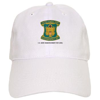 USAMU - A01 - 01 - DUI - U.S. Army Marksmanship Unit (AMU) with Text Cap