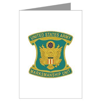 USAPT - M01 - 02 - SSI - U.S. Army Parachute Team (Golden Knights) Greeting Cards (Pk of 10)