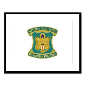 USAPT - M01 - 02 - SSI - U.S. Army Parachute Team (Golden Knights) Large Framed Print