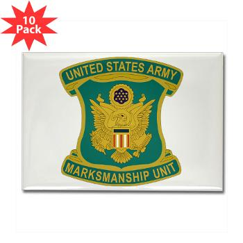 USAPT - M01 - 01 - SSI - U.S. Army Parachute Team (Golden Knights) Rectangle Magnet (10 pack)