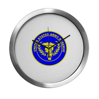 USAR - M01 - 03 - United States Army Reserve - Modern Wall Clock