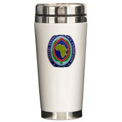 AFRICOM - M01 - 03 - United States Africa Command - Ceramic Travel Mug