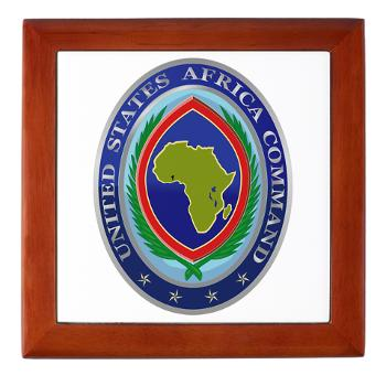 AFRICOM - M01 - 03 - United States Africa Command - Keepsake Box