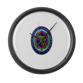 AFRICOM - M01 - 03 - United States Africa Command - Large Wall Clock