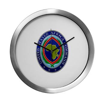 AFRICOM - M01 - 03 - United States Africa Command - Modern Wall Clock